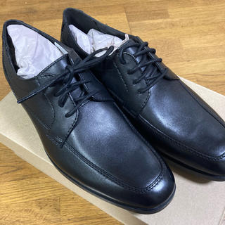 Clarks - 新品 メンズ クラークス 黒 本革靴 UK6