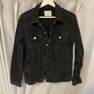 ウィゴー(WEGO)のGジャン デニムジャケット 黒 ブラック(Gジャン/デニムジャケット)
