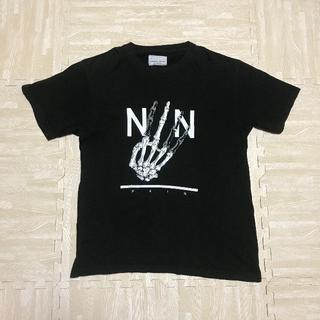 ナンバーナイン(NUMBER (N)INE)のNUMBER (N)INE×STUDIOUS PAIN スカルハンド Tシャツ(Tシャツ/カットソー(半袖/袖なし))