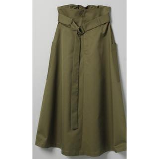 JEANASIS - JEANASIS ミリタリーポケットスカート