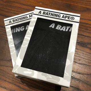 アベイシングエイプ(A BATHING APE)の新品 APE ボクサーパンツ 4枚(ボクサーパンツ)