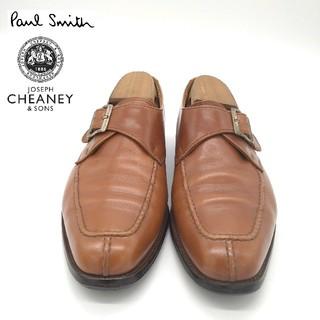 ポールスミス(Paul Smith)のポールスミス チーニー Uチップ シングルモンク レザーシューズ イギリス製(ドレス/ビジネス)