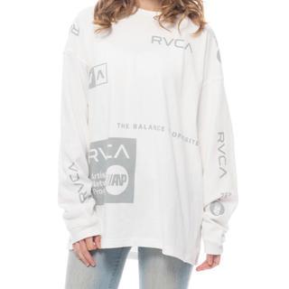 ルーカ(RVCA)の新品 RVCA ルーカ S オールオーバー ALL OVER 長袖 Tシャツ (Tシャツ/カットソー(七分/長袖))