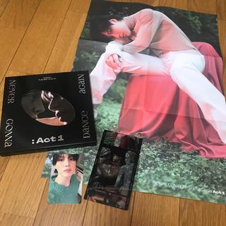 シャイニー(SHINee)のSHINee テミン アルバム CD トレカ フィルムカード 黒 ACT1(K-POP/アジア)