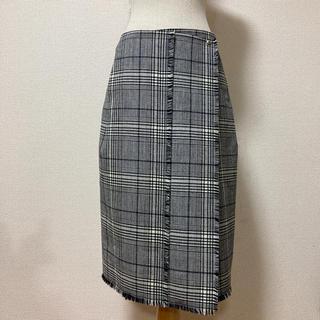 ドゥロワー(Drawer)の美品 ドゥロワー 巻きスカート(ひざ丈スカート)