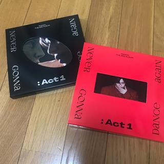 シャイニー(SHINee)のSHINee テミン アルバム CD ACT1 セット 赤 黒(K-POP/アジア)