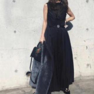 アメリヴィンテージ(Ameri VINTAGE)のAmeri vintage LADY BUSTIER ROMPERS DRESS(ロングドレス)