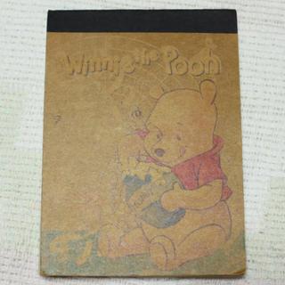 クマノプーサン(くまのプーさん)のディズニー プーさんメモ帳(ノート/メモ帳/ふせん)