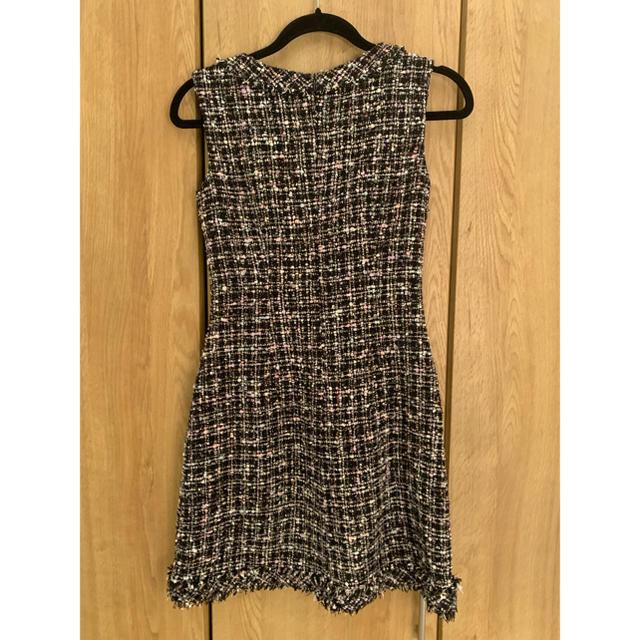 an(アン)のanツイードドレス レディースのフォーマル/ドレス(ナイトドレス)の商品写真