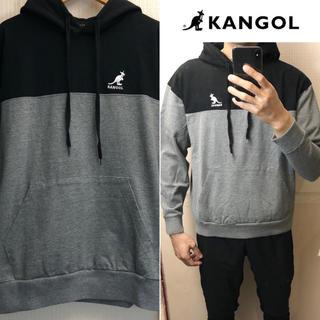 KANGOL - KANGOLパーカー切替カラーパーカーメンズ