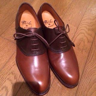 イルビゾンテ(IL BISONTE)のIL BISONTE サドルシューズ(ローファー/革靴)