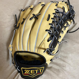 ZETT - 2020限定 ZETT プロステイタス 軟式 外野手 パステルブラウン