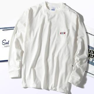 ビームス(BEAMS)のスクリーンスターズ ビッグロンT ホワイトM Tシャツ 長袖(Tシャツ/カットソー(七分/長袖))