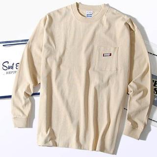 ビームス(BEAMS)のスクリーンスターズ ビッグロンT ベージュM Tシャツ 長袖(Tシャツ/カットソー(七分/長袖))