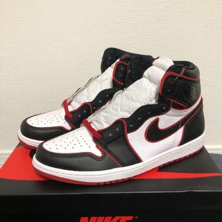 28 AIR JORDAN 1 RETRO HIGH OG BLOOD LINE(スニーカー)
