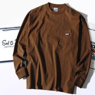 ビームス(BEAMS)のスクリーンスターズ ビッグロンT ブラウンM Tシャツ 長袖(Tシャツ/カットソー(七分/長袖))