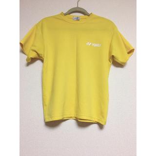 ヨネックス(YONEX)のYONEX Tシャツ 黄色(ウェア)