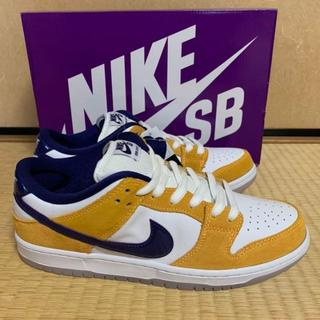 27.5CM NIKE SB DUNK LOW LASER ORANGE(スニーカー)
