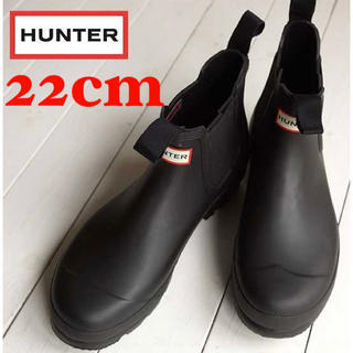 ハンター(HUNTER)のHUNTER レインブーツ オリジナル  チェルシー 送料無料 新品未使用(レインブーツ/長靴)