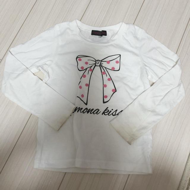 GU(ジーユー)のキッズ トップス ロンT  120 130 女の子 UNIQLO GU キッズ/ベビー/マタニティのキッズ服女の子用(90cm~)(Tシャツ/カットソー)の商品写真