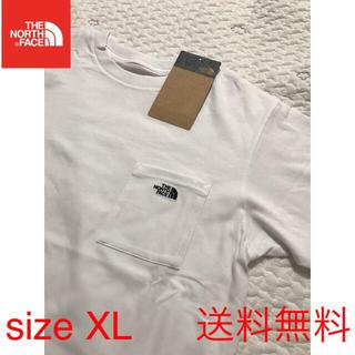 THE NORTH FACE - 【新品】THE NORTH FACE ノースフェイス ポケットTシャツ 白 XL