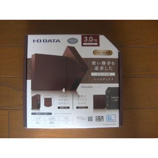 アイオーデータ(IODATA)のIO DATA USB 3.0/2.0対応 外付ハードディスク 3.0TB(PC周辺機器)