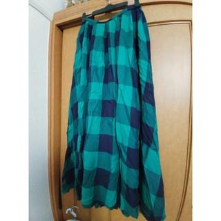 ロペピクニック(Rope' Picnic)のAMERICANHOLIC タータンチェック ロングスカート(ロングスカート)