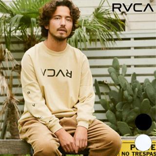 ルーカ(RVCA)のRVCA 2020秋冬モデル ロンT 長袖 Tシャツ ルーカ ルカ パーカー 茶(Tシャツ/カットソー(七分/長袖))