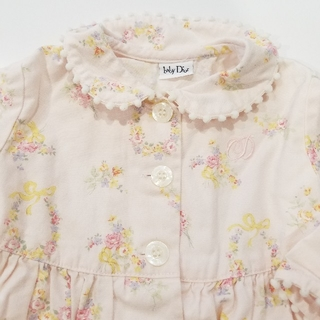 ベビーディオール(baby Dior)のベビーディオール 花柄 ワンピース(ワンピース)