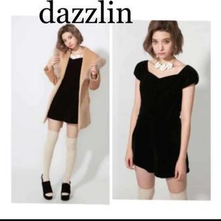 ダズリン(dazzlin)のダズリン❤︎ベロアオールインワン S(オールインワン)