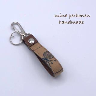 ミナペルホネン(mina perhonen)のミナペルホネン*choucho キーリング ハンドメイド⑦(キーホルダー/ストラップ)
