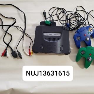 ニンテンドウ64(NINTENDO 64)のニンテンドー64セット(家庭用ゲーム機本体)