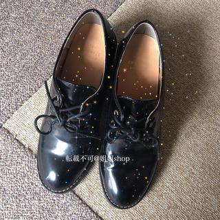 ウィゴー(WEGO)の量産型 BUBBLES 夢展望 系 厚底 レースアップシューズ ローファー(ローファー/革靴)