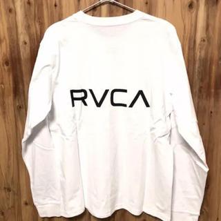 ルーカ(RVCA)のMサイズ RVCA ルーカ ルカ ロンT パーカー スウェット 長袖Tシャツ(Tシャツ/カットソー(七分/長袖))