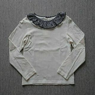 サニーランドスケープ(SunnyLandscape)のここる様専用出品 apres les cours チェックフリル 襟長袖 他2点(Tシャツ/カットソー)