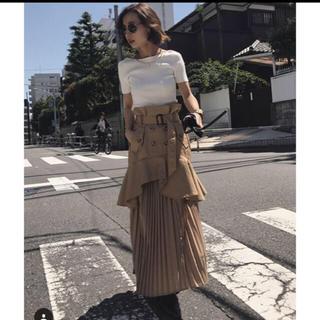 アメリヴィンテージ(Ameri VINTAGE)のAMERI VINTAGE トレンチスカート(ロングスカート)