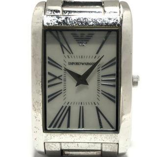 エンポリオアルマーニ(Emporio Armani)のアルマーニ 腕時計 - AR-2037 レディース(腕時計)