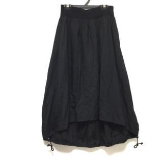 ワイズ(Y's)のワイズ ロングスカート サイズ3 L - 黒(ロングスカート)