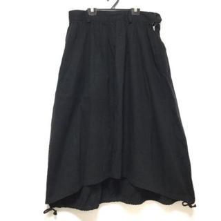 ワイズ(Y's)のワイズ ロングスカート レディース - 黒(ロングスカート)