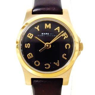 マークバイマークジェイコブス(MARC BY MARC JACOBS)のマークジェイコブス 腕時計 MBM1240 黒(腕時計)