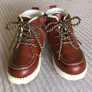 エイチアンドエム(H&M)の【オシャレ❗️】H&Mキッズブーツ 14cm 防寒(ブーツ)