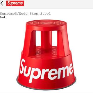 シュプリーム(Supreme)のSupreme Wedo Step Stool Red 赤 シュプリーム 椅子(スツール)