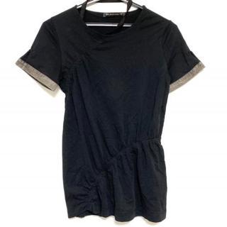 バレンシアガ(Balenciaga)のバレンシアガ 半袖カットソー サイズ36 S -(カットソー(半袖/袖なし))