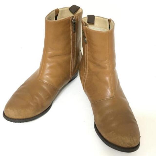REGAL(リーガル)のリーガル ショートブーツ 23 1/2 ブラウン レディースの靴/シューズ(ブーツ)の商品写真