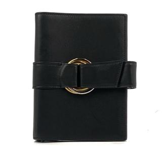 カルティエ(Cartier)のカルティエ 手帳カバー ブラック トリニティ システム手帳 アジェンダ(その他)