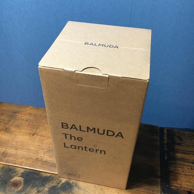 BALMUDA(バルミューダ)の新品 バルミューダ  ランタン 白 スポーツ/アウトドアのアウトドア(ライト/ランタン)の商品写真