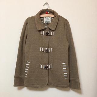 イッカ(ikka)の新品★ikka★タグ無し★ウール混ニットジャケット(150)(コート)