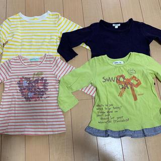 ハッカキッズ(hakka kids)の女の子洋服 100cm 4点セット(Tシャツ/カットソー)