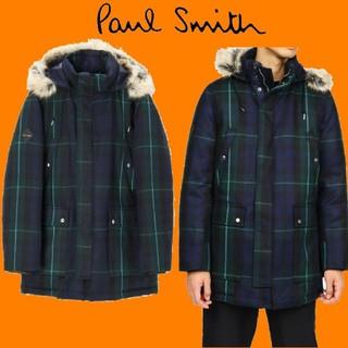 ポールスミス(Paul Smith)のポールスミス 18aw フランス産ダウン ブラックウォッチ ダウンジャケット(ダウンジャケット)