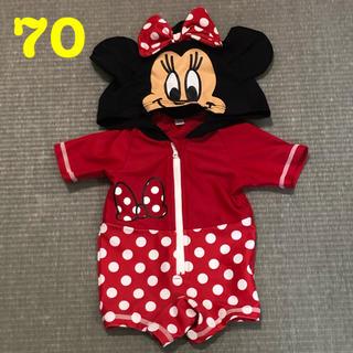 ディズニー(Disney)の70 ミニーちゃん 水着(水着)